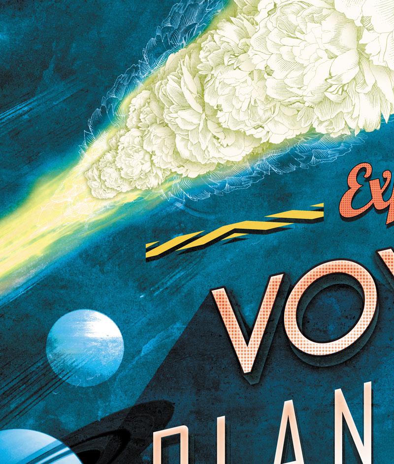 Voyages Planétaires : sur la trajectoire d'une comète