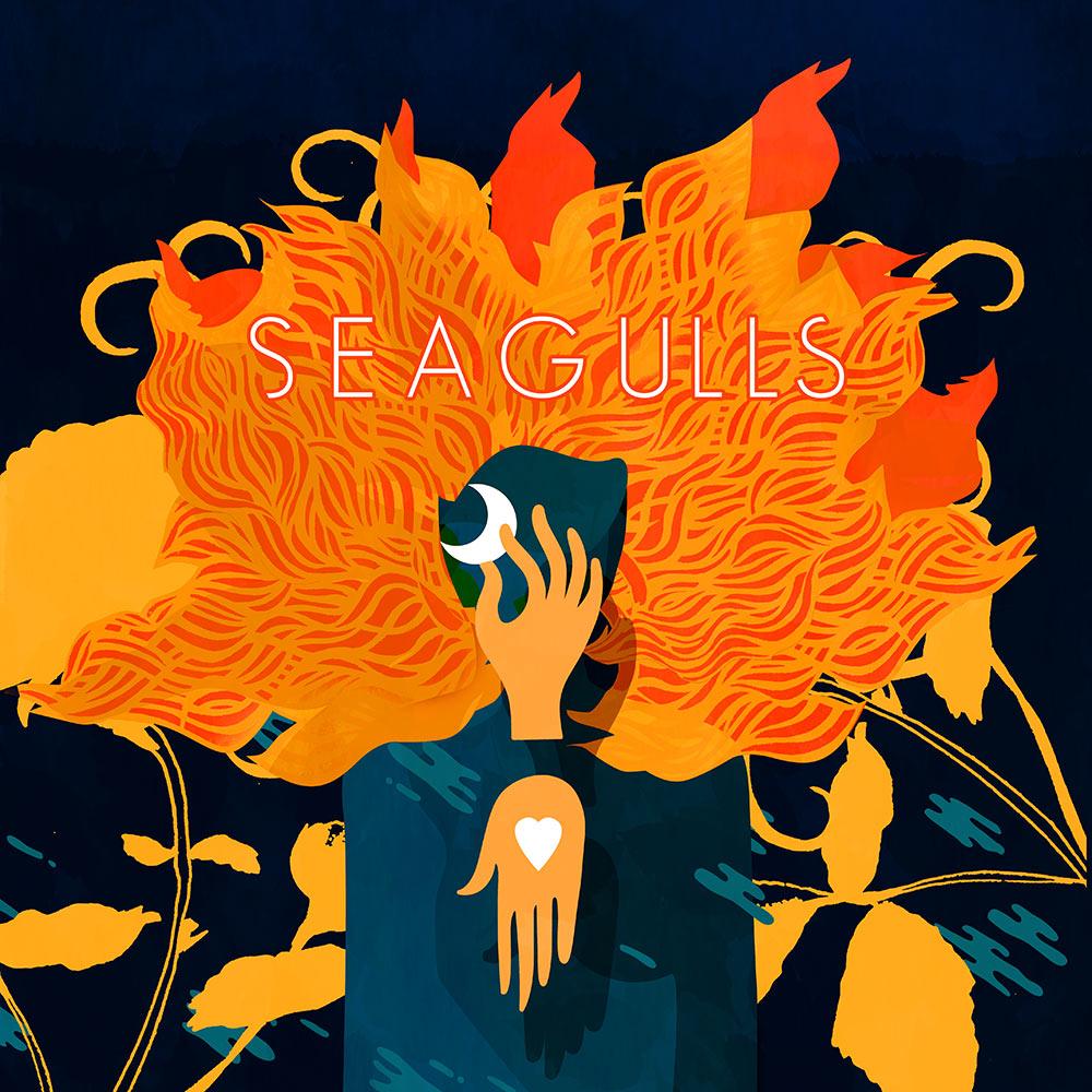 Pochette CD et Vinyle Seagulls