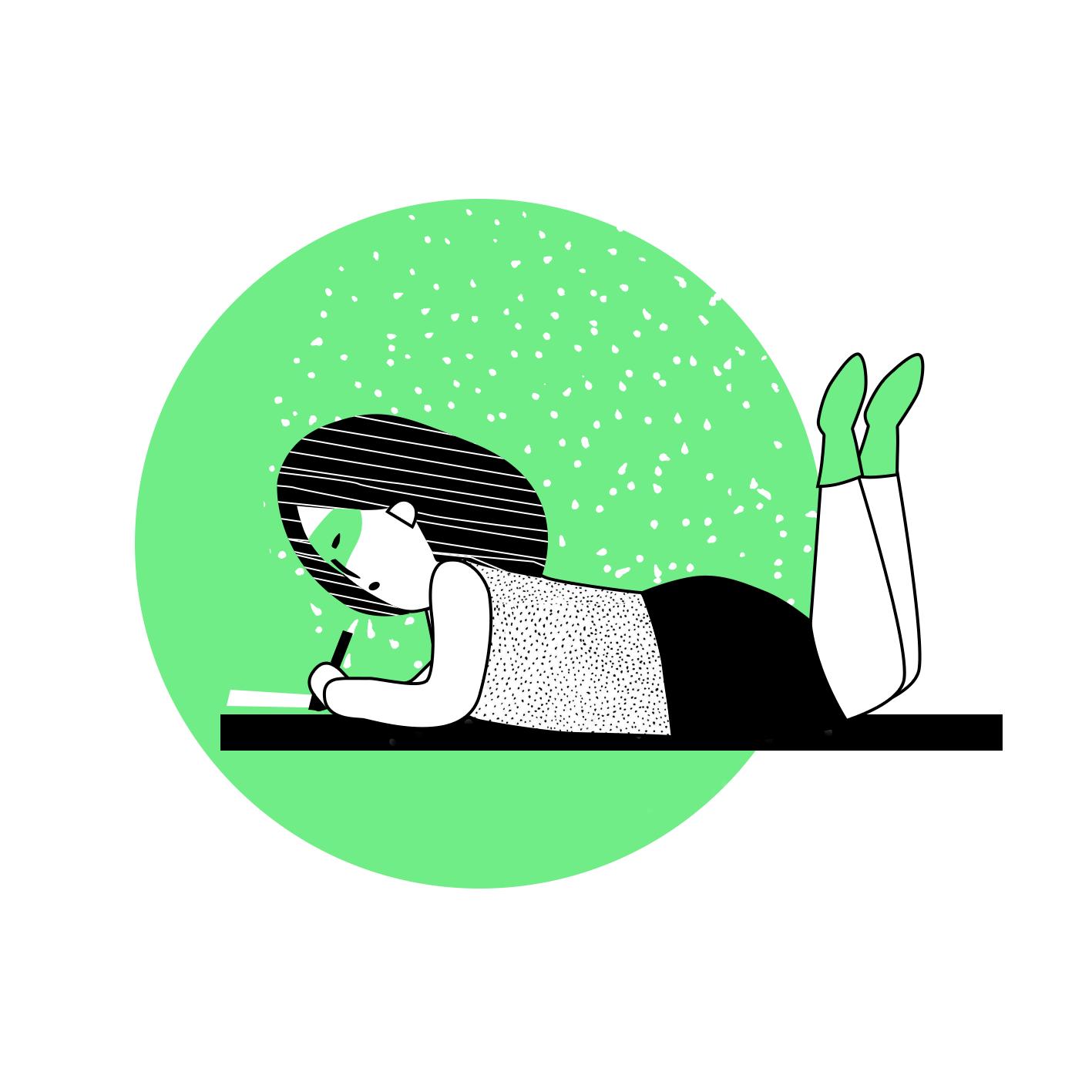 Graphiste illustrateur webdesigner pour Comette freelance en communication