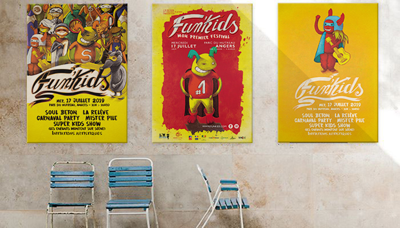 affiche-festival-enfants-creation-graphiste-freelance-super-heros