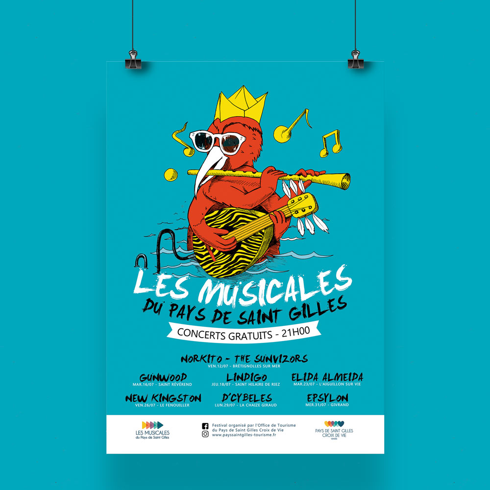 graphiste-illustrateur-poster-affiche-festival-vendee