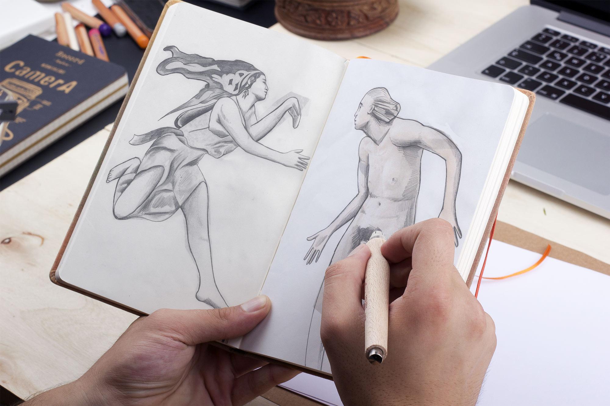 dessins_croquis_illustrateur_nantes_la_roche_sur_yon_france